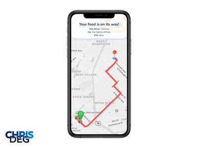 Daily UI Challenge #020 - Location Tracker