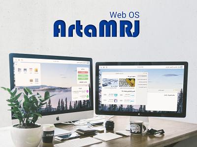 Web OS UI/UX Design webdesign design webos os web ad adobe xd uiuxdesign ux design ux ui deisgn ui