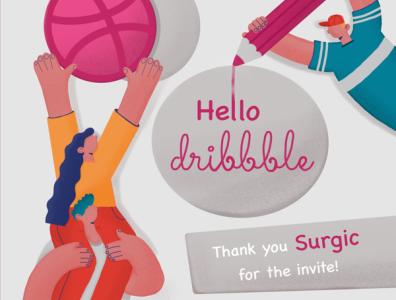 Hello dribbble!👋