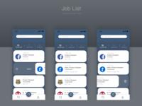 Daily UI challenge: Job List