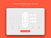 Daily UI challenge: confirm reservation
