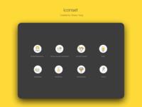 Daily UI challenge: iconset