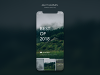 Daily UI challenge: best of 2018