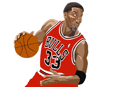 Scotty Pippen netflix sports illustration the last dance basketball chicago bulls scottie pippen
