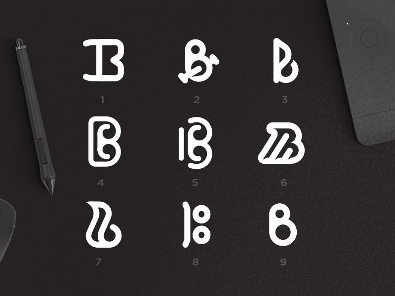 "Letter ""B"" Exploration alphabet logo bicycle abstract logo graphic design vector logotype logodesign lettering illustration dailylogochallenge dailylogo typography logo design branding"