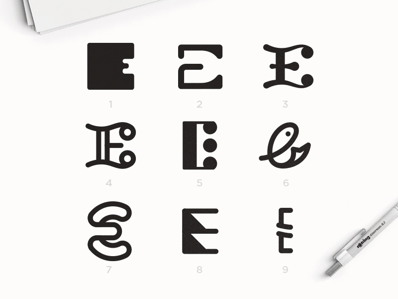 "Letter ""E"" Exploration icon graphicdesign alphabet typography alphabet logo abstract logo graphic design vector logotype logodesign lettering illustration dailylogochallenge dailylogo typography logo design branding"
