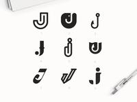 """Letter """"J"""" Explorations"""