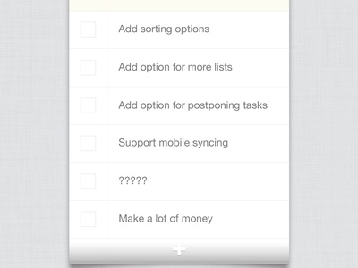 Unnamed To-do List App html5 local storage webapp