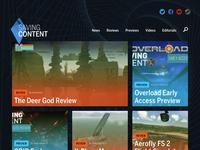 Saving Content, revamp game reviews gaming reviews wordpress website site videogames games