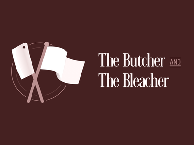 Butcher and Bleacher branding band identity