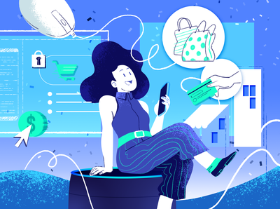 E-commerce in Space