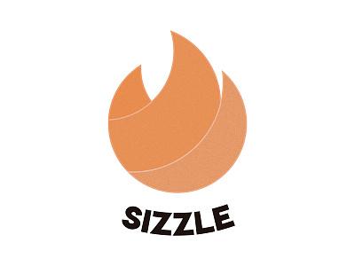 Day 10: Sizzle #dailylogochallenge dailylogo design dailylogochallange logo illustrator illustration ai