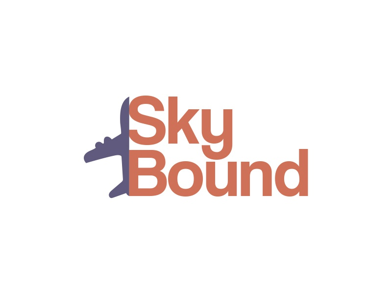 Day 12: SkyBound #dailylogochallenge airtrack pioneer skybound plane icon dailylogo design dailylogochallange logo illustrator illustration ai