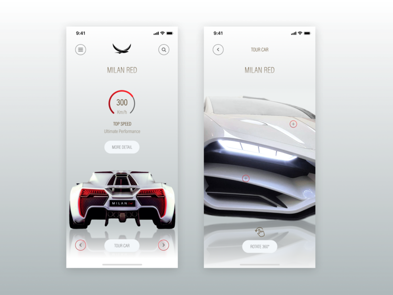 Shop Car App