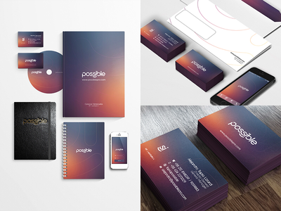 Possible - Branding & Stationery