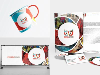Buenadicción - Branding & Stationery