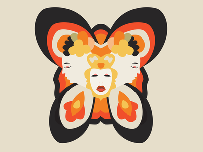 Butterfly Illustration design vector illustrator illustration