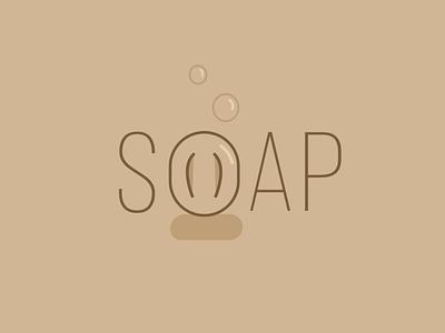 Soap Logo minimal vectorart logo art affinitydesigner illustration flat minimalistic soap