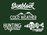 Outdoor Sports Catalog Graphics