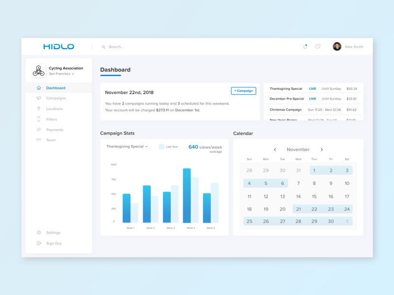 Dashboard Redesign web ui sketch mock-ups app