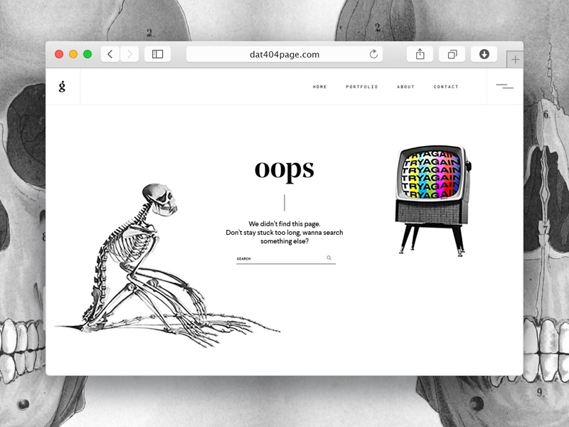 404 - Weekly Warm Up website webdesign web 404 page retro 404 irony collageart collage photoshop