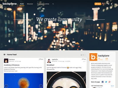 Backplane Feed Redesign