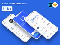 BlockChain Wallet Mobile APP UI Kit