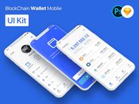 BlockChain Wallet Mobile APP UI Kit