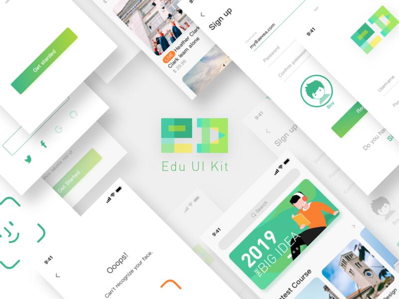 EDU UI Kit app ui kit ui edu