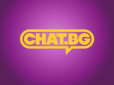 Chat.bg logo redesign logo redesign chat.bg