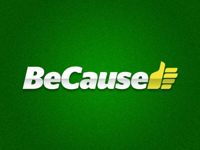 BeCause.bg Logo logo cause support like