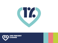 Logo design for One Percent Change