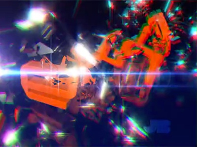 Visuals for Tekniq tekniq motion cinema4d glass letters after effects