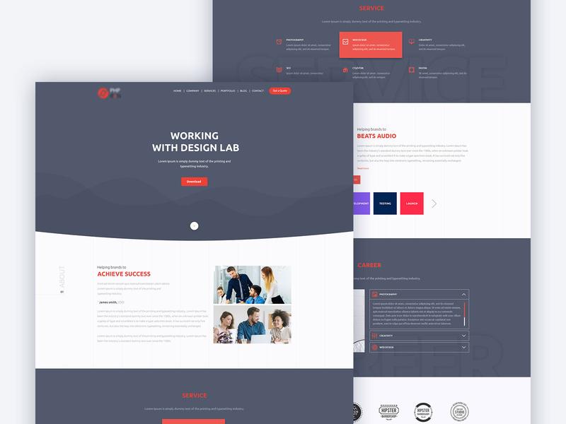 Service Provider : Website Design