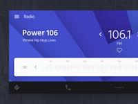 Radio UI