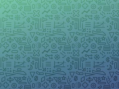 Doodle Background doodle lines tiling gradient pattern vector shapes detail