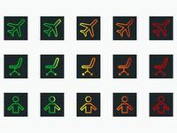 Nokia Time Traveler App Concept - Icons