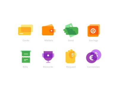 Financial Icons business finance icons financial finance app finance logo minimal design icon design icon set icon icons