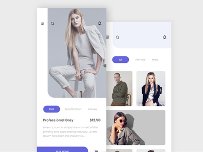 Fashion APP UI vector typography design art design appdevelopers theme color thoughts uiux ux fashion app fashion art developer uidesign ui