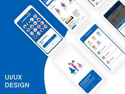 Ecommerce App UI/UX Design Project