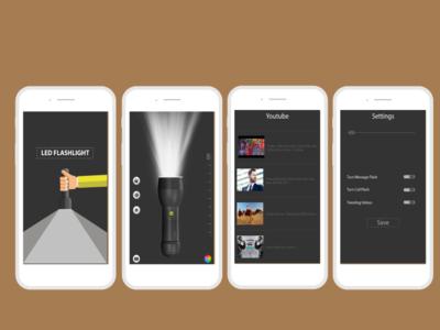 Torch App UI brand website branding clean mobile ios illustrator uxdesign ux ui icon vector ui-ux design ui desing interface flat illustration design application app