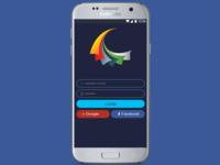 Login app page