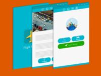 App UI flight tracker