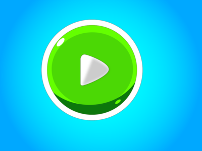 Green Play Button
