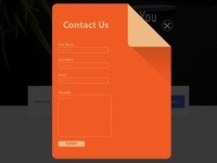 Contact us popup