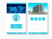 Flight Tracker App UI design