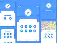 Flight Tracker App UI Design