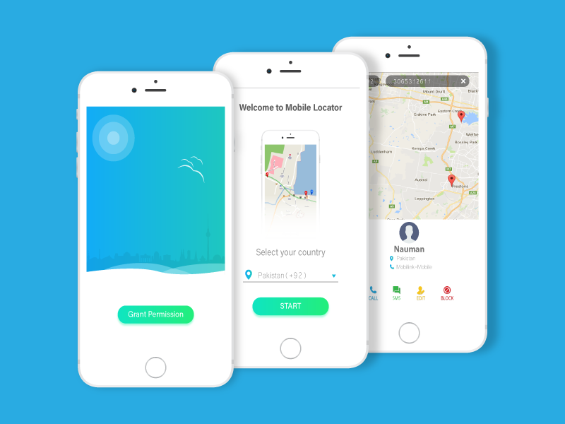 Phone Number Locator >> Mobile Number Locator App Ui Design By Taimoor Abbasi On Dribbble