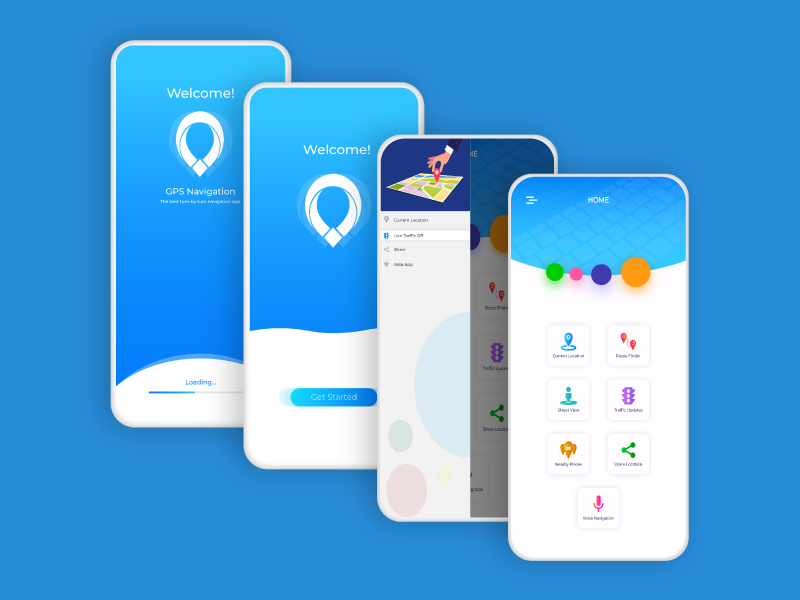 Mobile App ui/ux design by Taimoor Abbasi on Dribbble