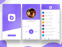 Music Player App UI/UX design